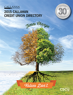 2015 Callahan Credit Union Directory