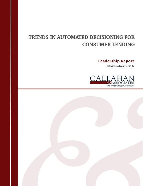 Trends In Automated Decisioning For Consumer Lending