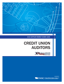 2015 Supplier Market Share Guide: Credit Union Auditors